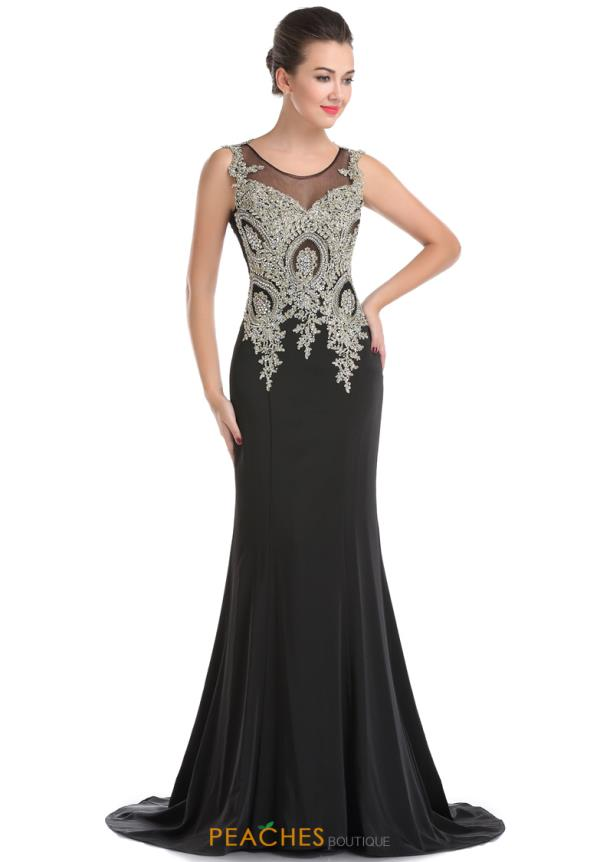 Romance Couture Fitted Long Dress RM6031