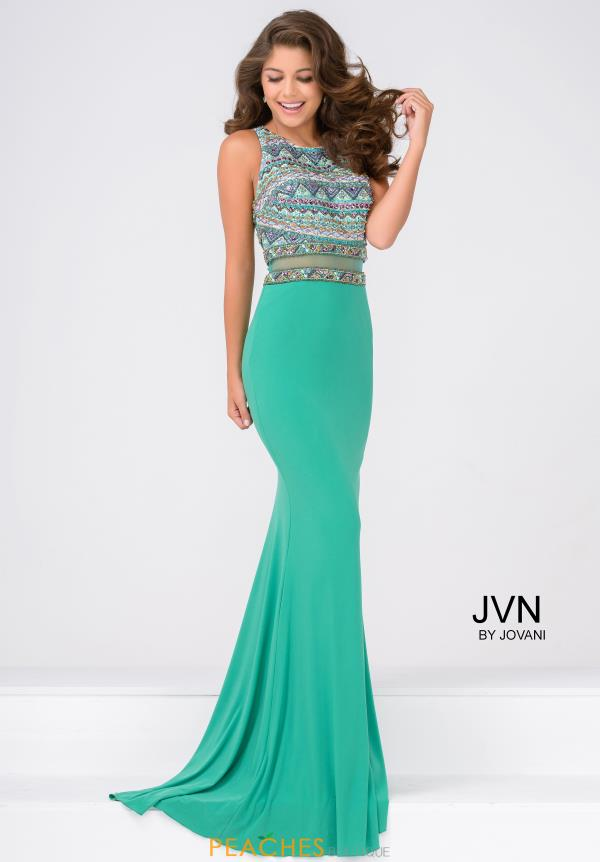 JVN by Jovani Jersey Long Dress JVN36888