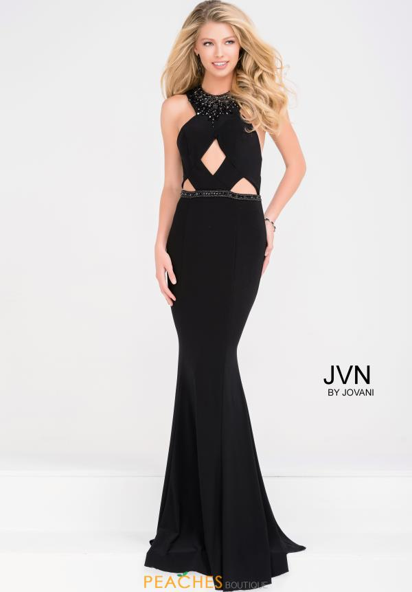 JVN by Jovani Sexy Back Fitted Dress JVN41543