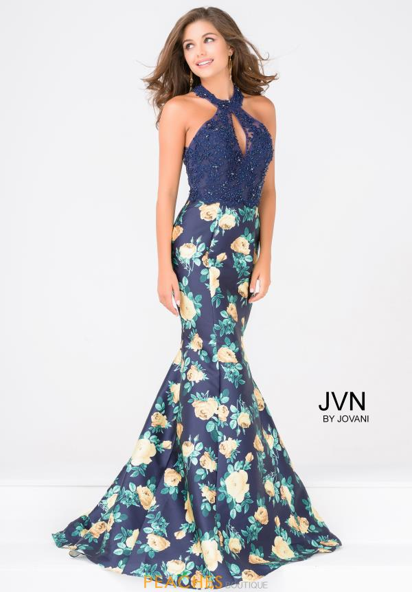 JVN by Jovani Beaded Mermaid Dress JVN47610