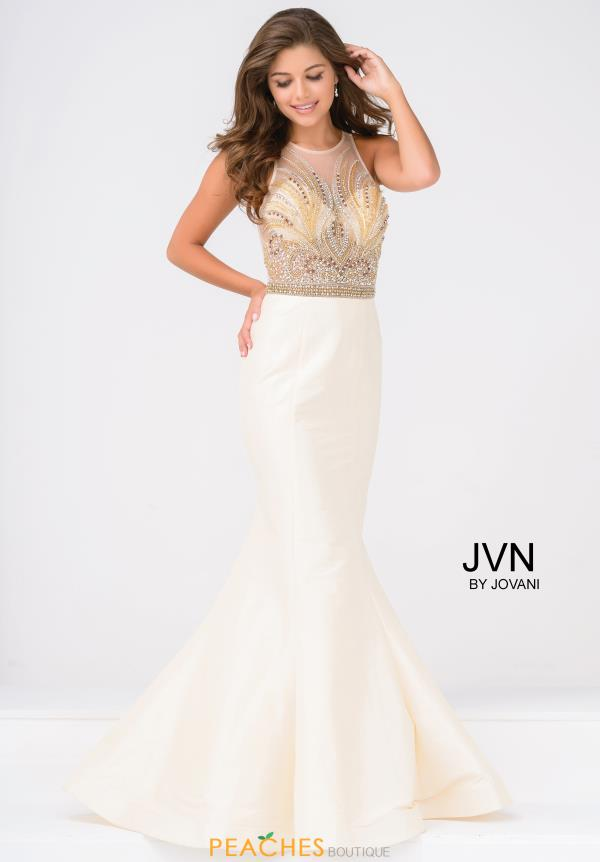 JVN by Jovani Mermaid Beaded Dress JVN47813