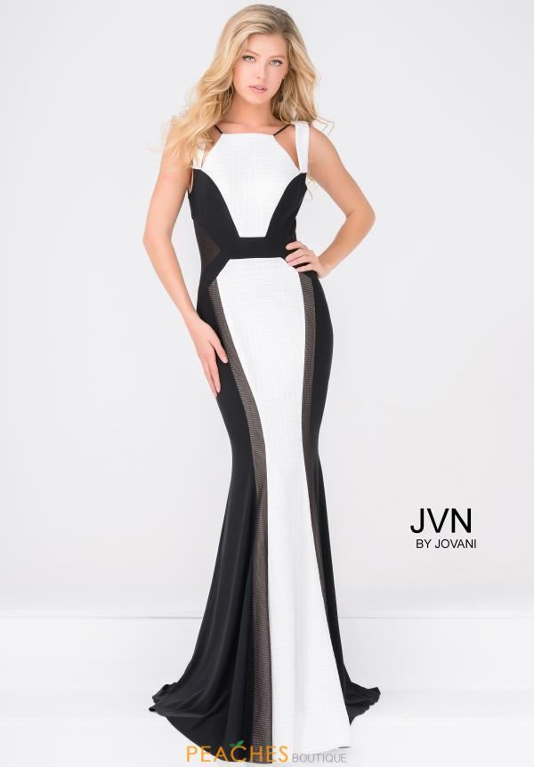 JVN by Jovani Fitted Jersey Dress JVN47900