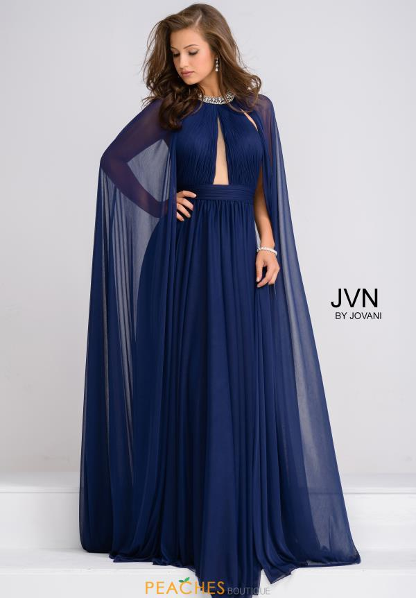 JVN by Jovani Full Figured Sexy Dress JVN48493