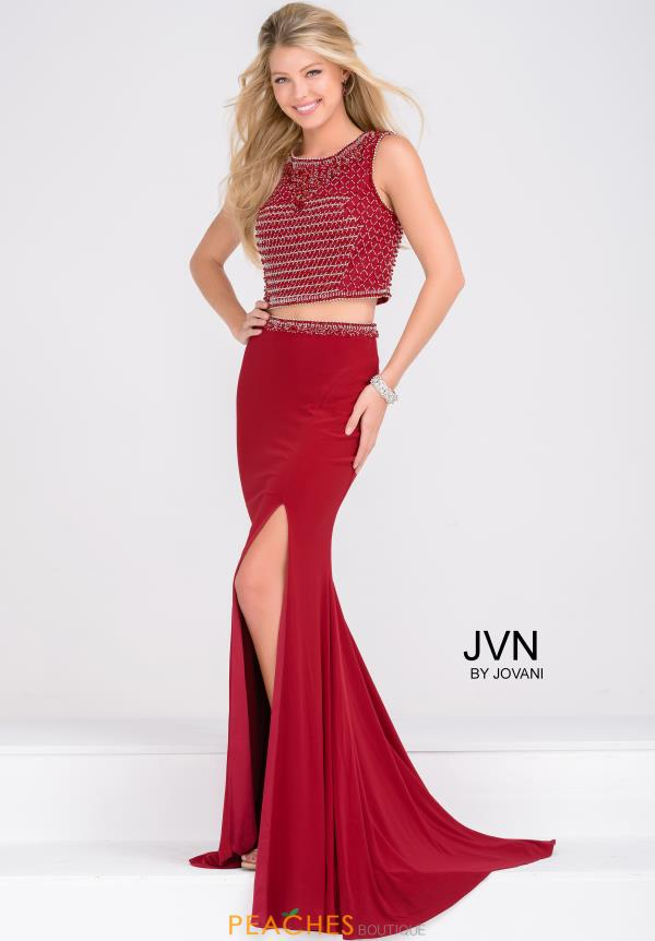 JVN by Jovani Two Piece Beaded Dress JVN49602