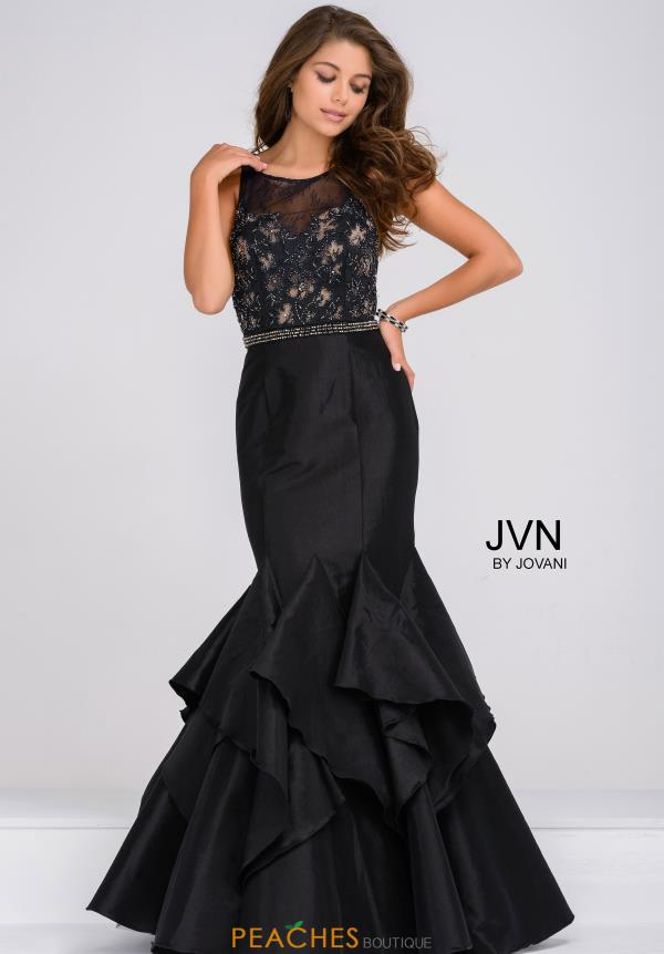 JVN by Jovani Mermaid Lace Dress JVN50200