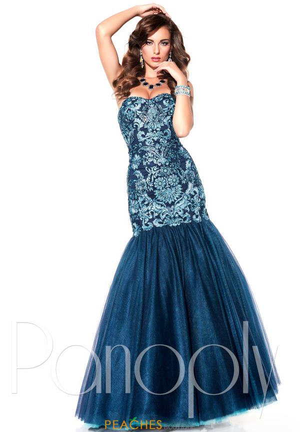Strapless Beaded Panoply Dress 14829