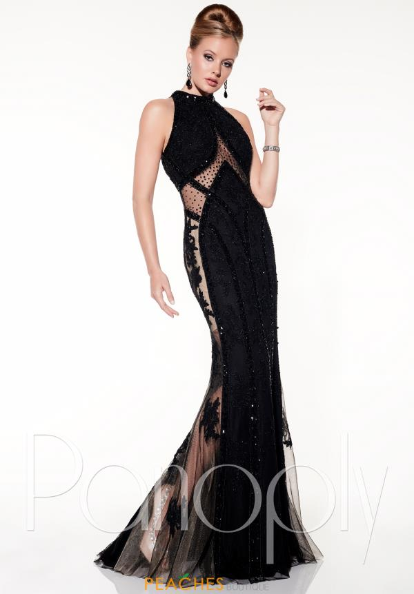 Panoply Fitted Long Dress 14846