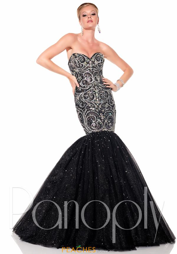 Panoply Beaded Long Dress 44302