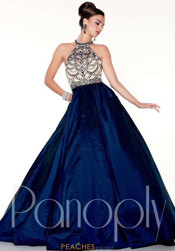 Panoply Long A Line Dress 44303