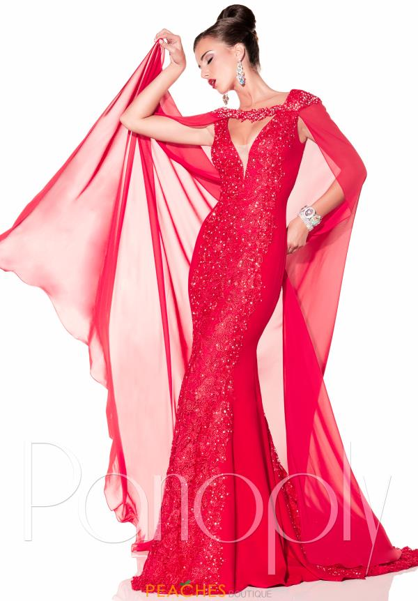 Panoply Fitted Long Dress 44306