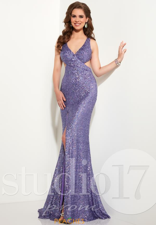 Studio 17 Sequins Fitted Dress 12604