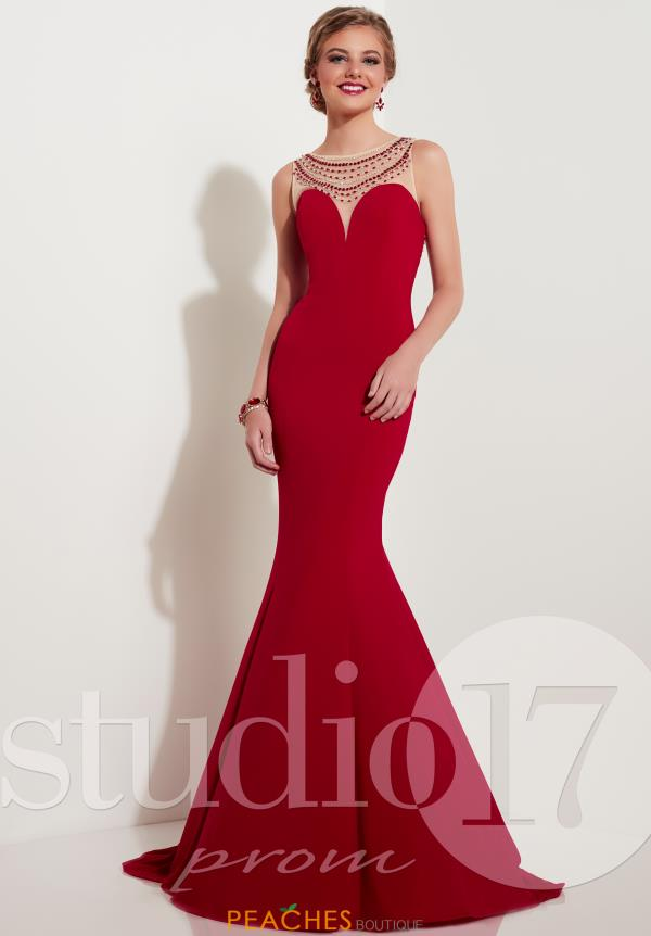 Studio 17 Fitted Jersey Dress 12618