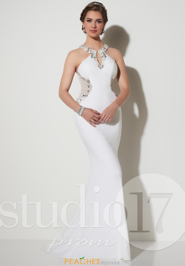 Studio 17 Fitted Long Dress 12624