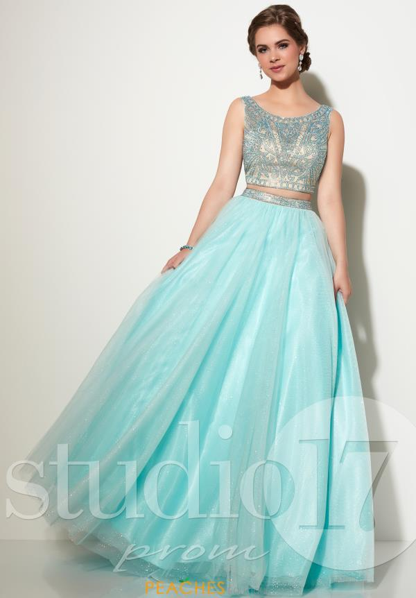 Two Piece Beaded Studio 17 Dress 12639