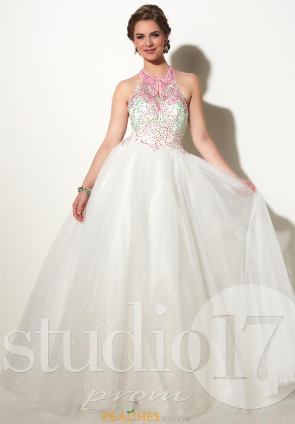 Halter Top Beaded Studio 17 Dress 12640