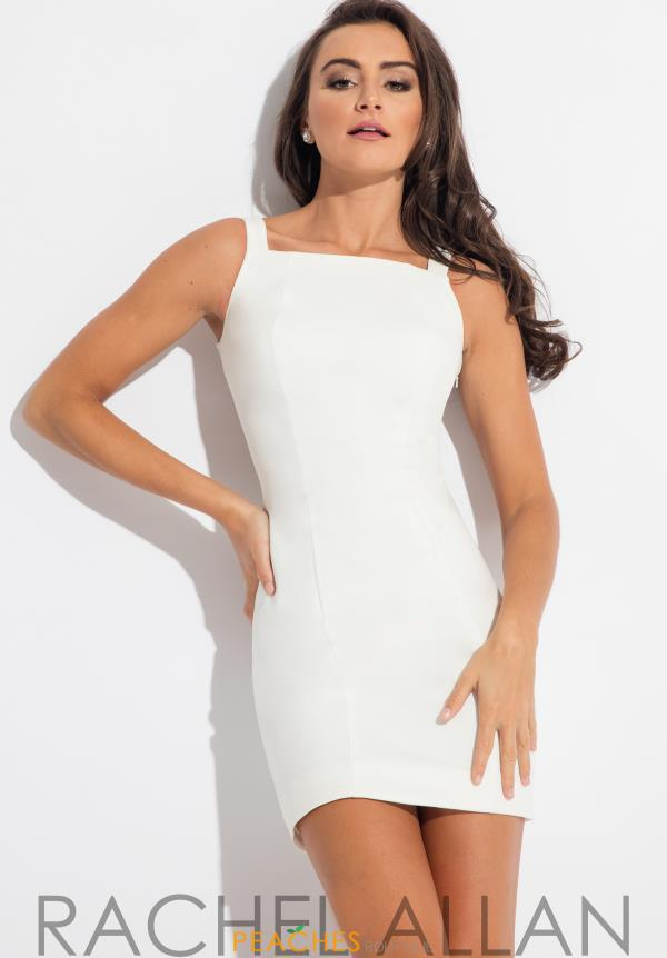 Rachel Allan High Short Dress L1059