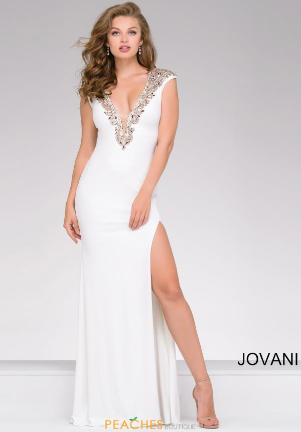 Jovani Long Beaded Dress 31039
