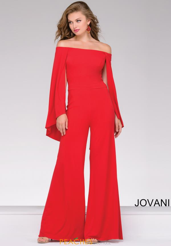 Jovani Off The Shoulder Pant Suit 39598