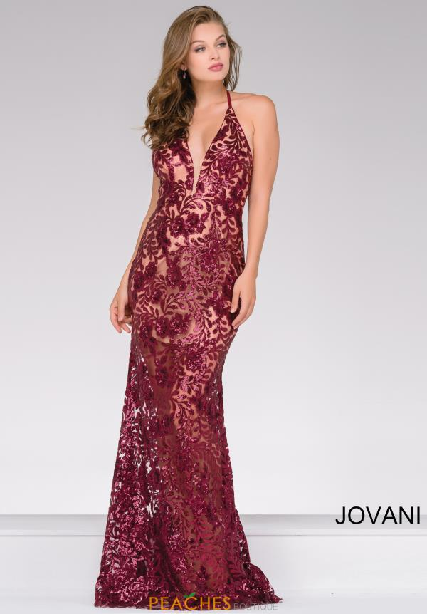 Jovani Fitted Sequins Dress 40118