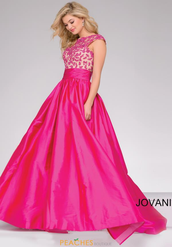 Jovani Beaded Ball Gown Dress 40556