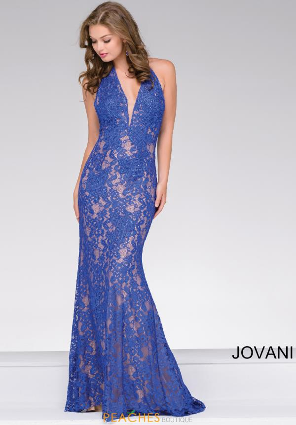 Jovani Fitted Beaded Dress 41248