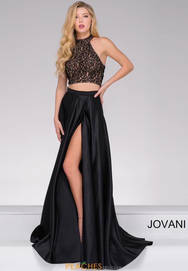 Jovani Two Piece Beaded Dress JVN41499