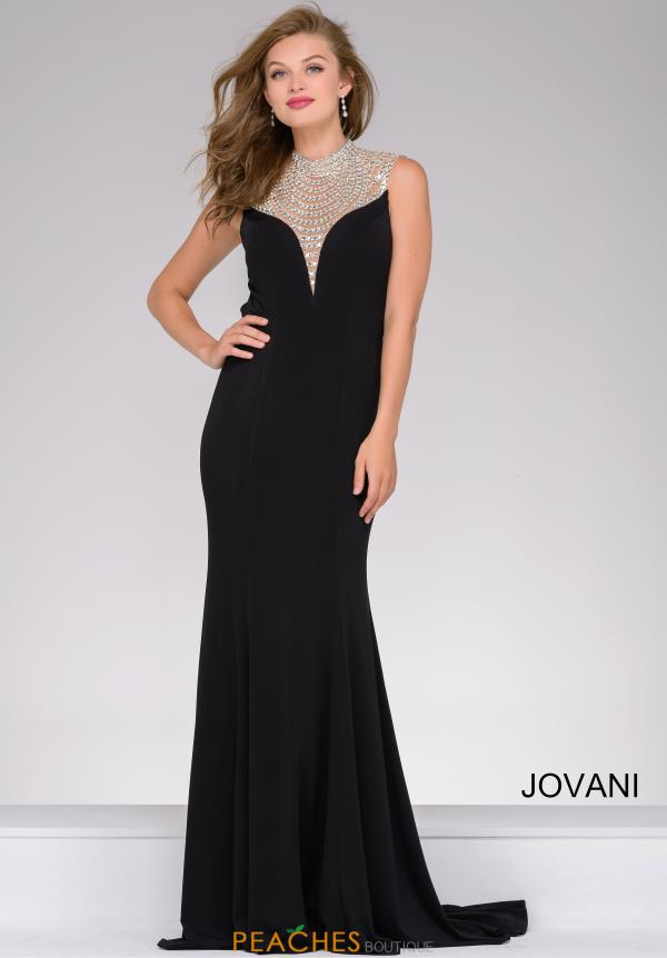 Jovani Beaded Fitted Dress 42240