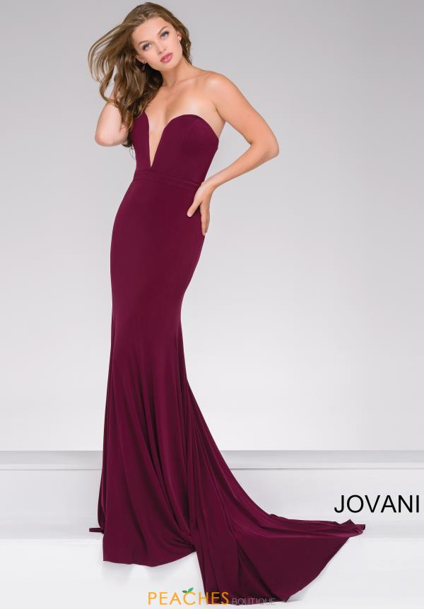 Jovani Fitted Sweetheart Dress 42842