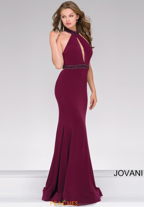 Jovani Long Jersey Dress 45034