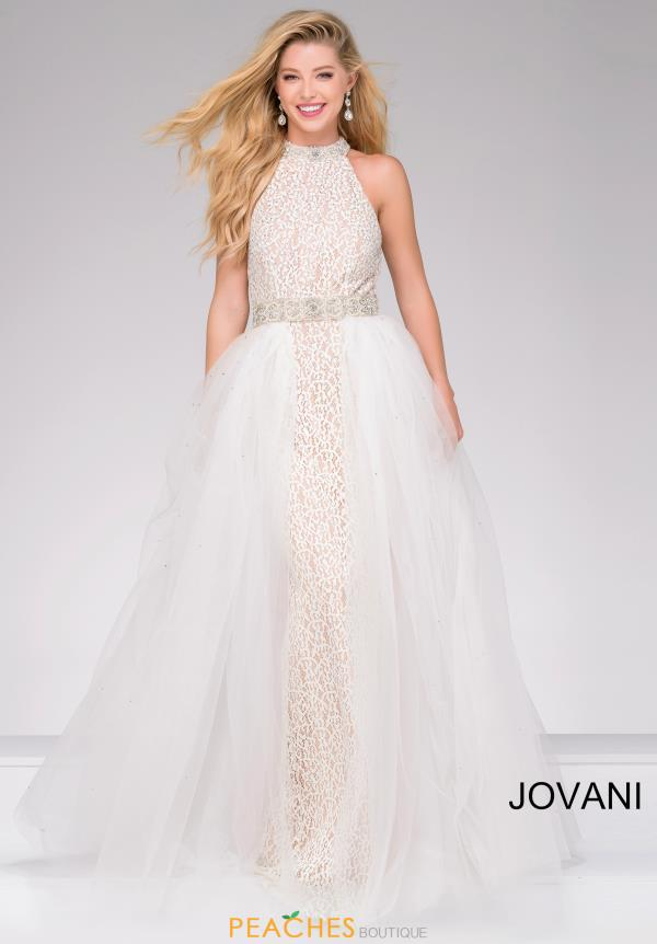 Jovani Fitted Beaded Dress 45138