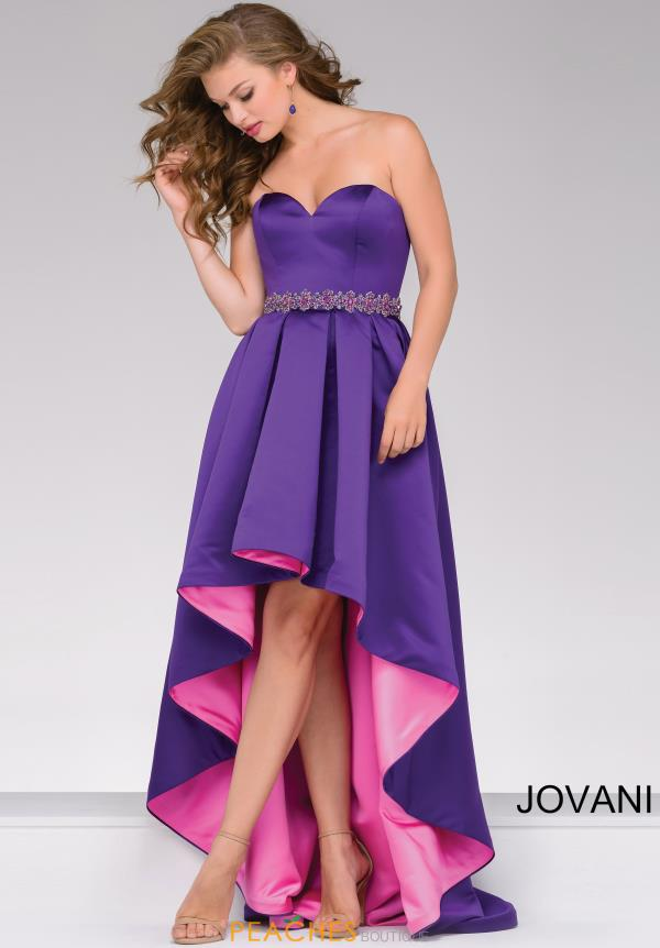 Jovani Full Figured Satin Dress 45170