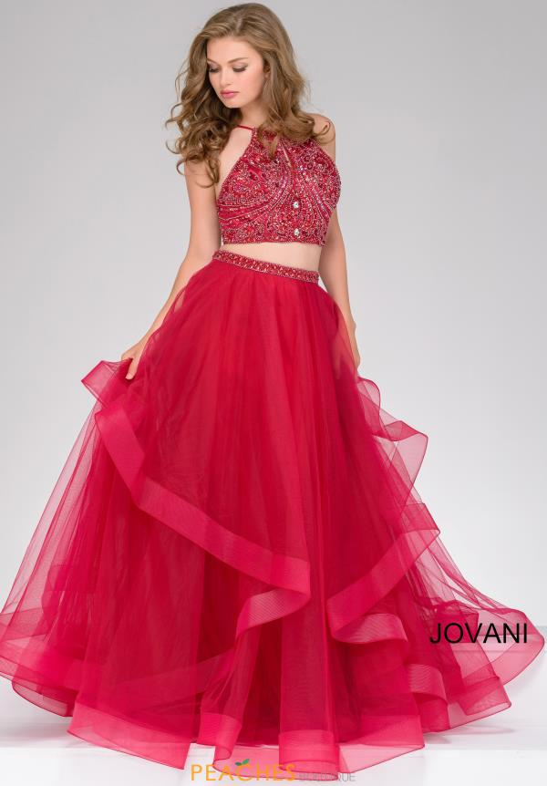 Jovani Tulle Ball Gown Dress 46404