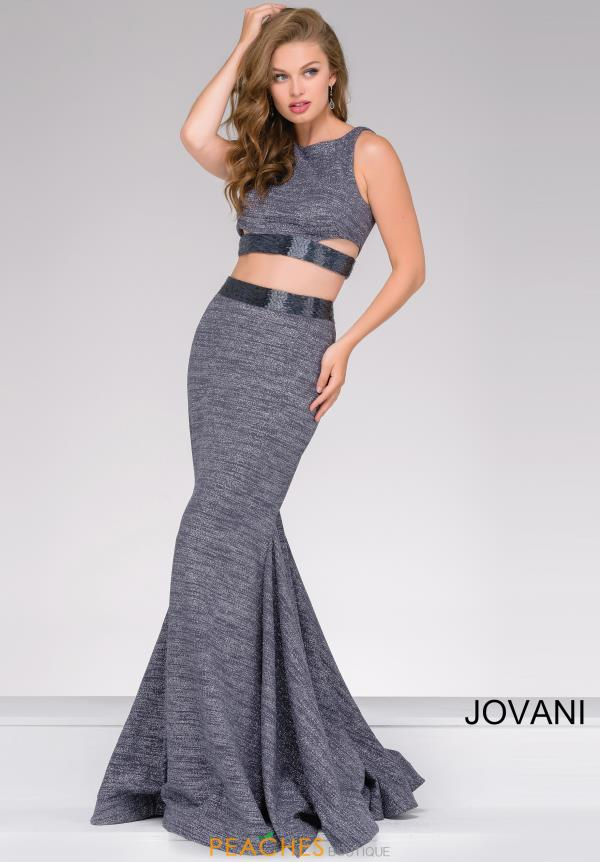 Jovani Two Piece Beaded Dress 47025