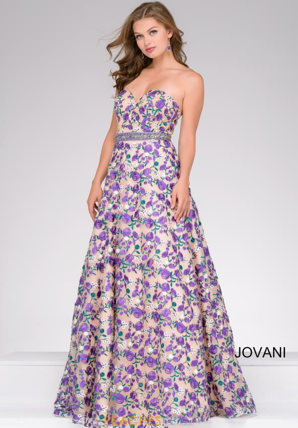Jovani Full Figured Sweetheart Dress 47740