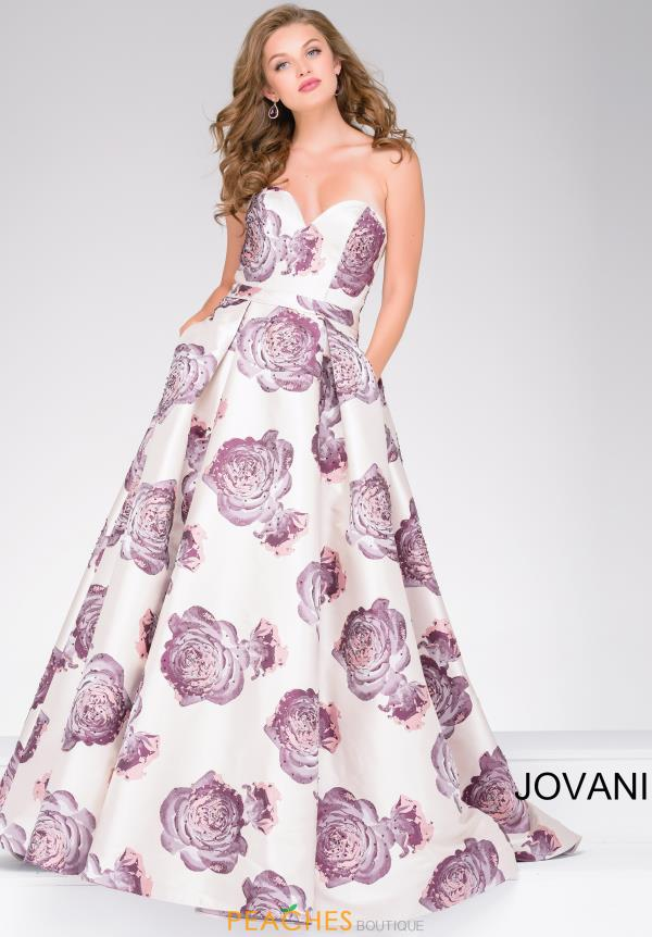 Jovani A Line Sweetheart Dress 48924