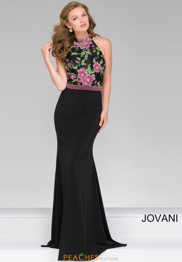 Jovani Fitted Beaded Dress 48960