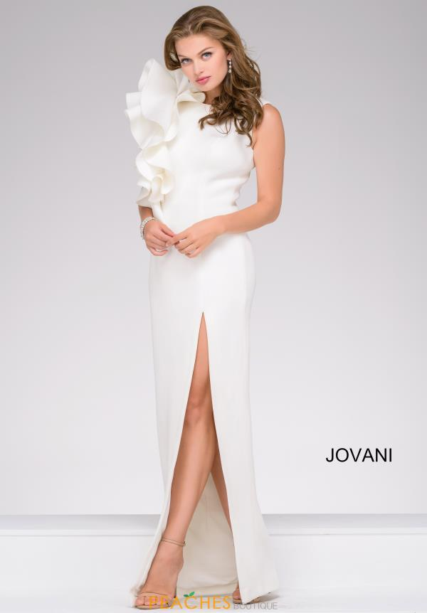 Jovani Fitted Neoprene Dress 49868