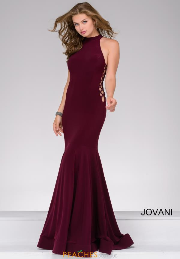 Jovani High Neckline Jersey Dress JVN50487