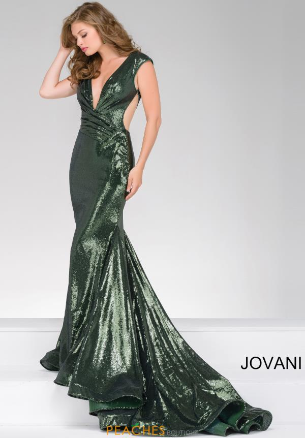 Jovani Fitted Sequins Long Dress 56969
