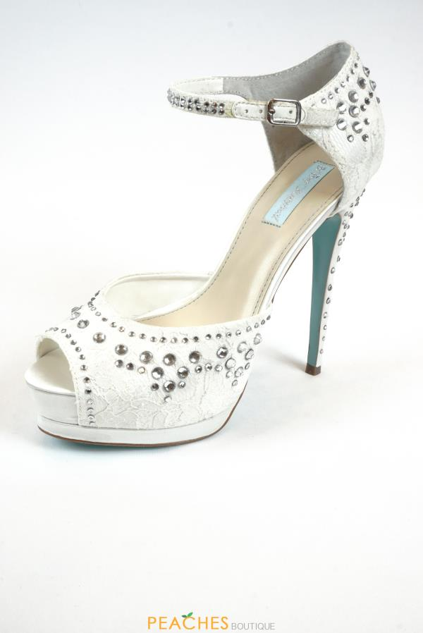 SB-Doll Ivory Heels by Betsey Johnson