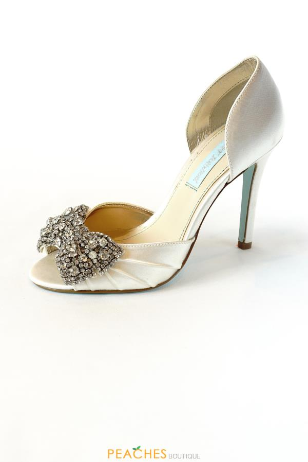 SB-Gown Open Toe Heels by Betsey Johnson