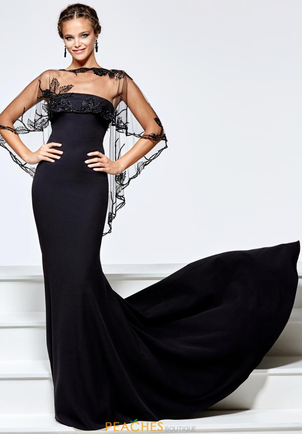 Tarik Ediz Strapless Long Dress 93163