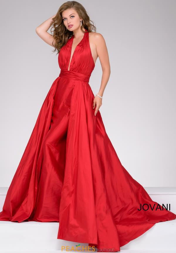 Jovani Taffeta Long Dress 42843