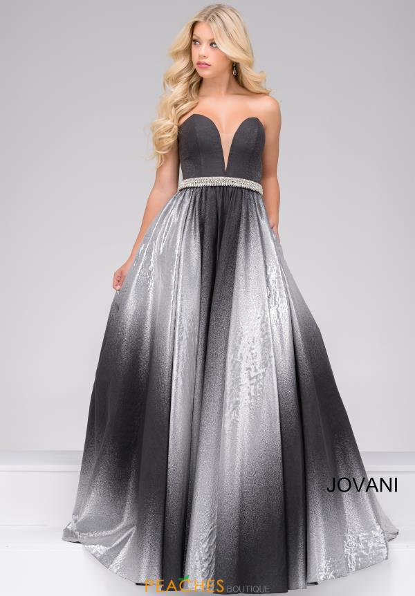 Jovani Sweetheart Beaded Dress 45305