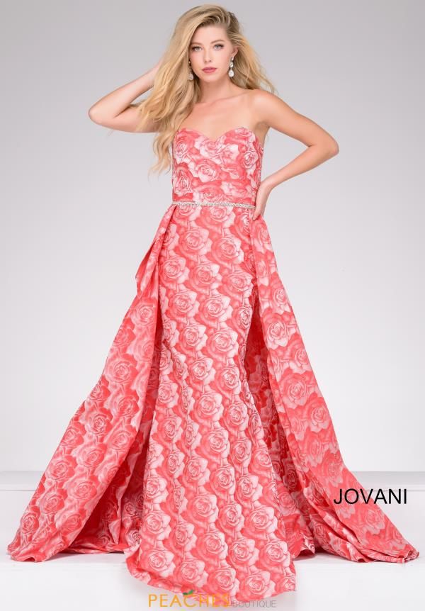 Jovani Long Beaded Dress 45934