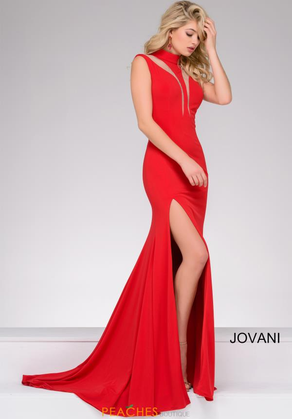 Jovani Jersey Lace Dress 46918
