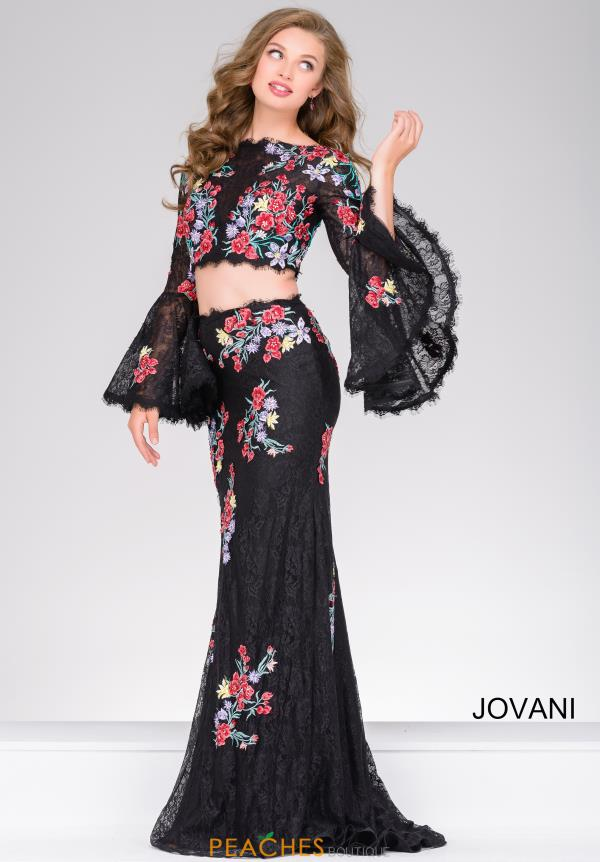 Jovani  Long Sleeve Fitted Dress 48903