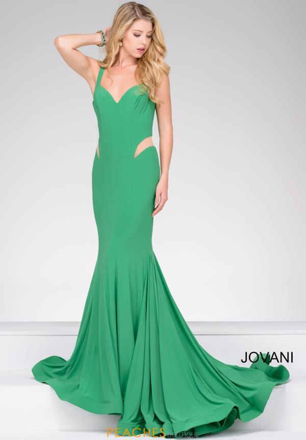 Jovani Jersey Open Back Dress 49252