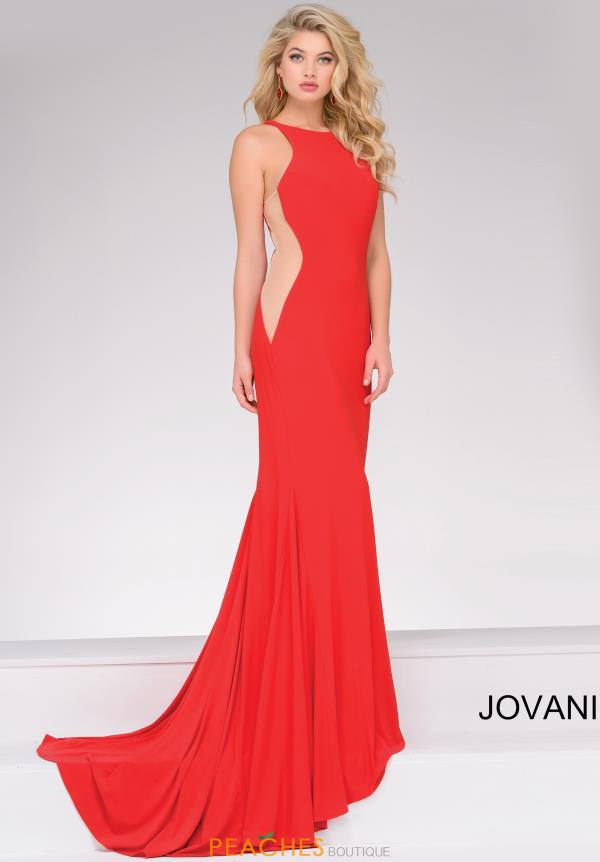 Jovani High Neckline Fitted Dress 35353