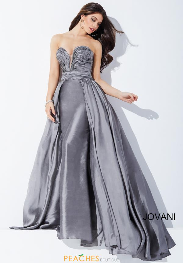 Strapless A Line Jovani Dress 36163